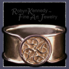 18 K Gold Celtic Ring Picture
