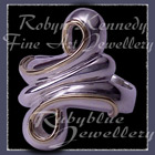 18 Karat Yellow Gold and Sterling Silver 'Rosemary's Journey' Ring Image