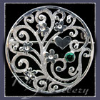 Sterling Silver 'Forget-Me-Not Bouquet' Brooch Image