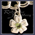 Sterling Silver 'Single Blossom' Charm Image