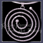 Sterling Silver Spiral 'Circle of Life' Pendant Image