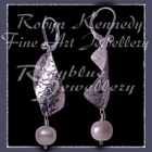 Sterling Silver and Cultured Freshwater Pearl 'Panache' Earrings Image