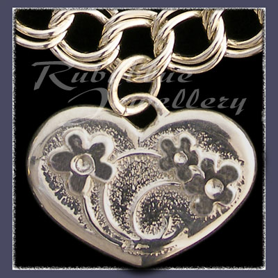Sterling Silver 'Heart' Charm Image