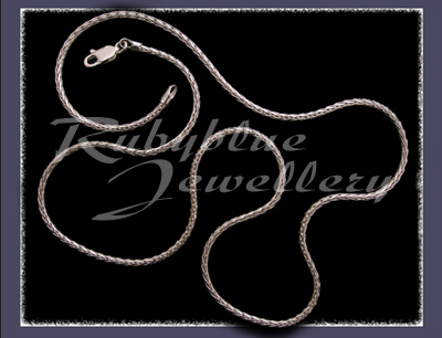 Sterling Silver Solid Diamond Cut Palma Link Chain Image