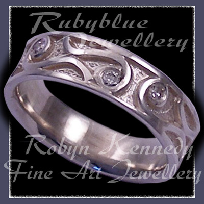 Sterling Silver and Diamonds 'Reverie' Ring Image